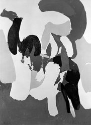 James Brooks (American, 1906-1992). <em>The Springs</em>, 1971. Color lithograph on paper, 30 x 22 in. (76.2 x 55.9 cm). Brooklyn Museum, Gift of Mr. and Mrs. Samuel Dorsky, 74.178.10. © artist or artist's estate (Photo: Brooklyn Museum, 74.178.10_bw.jpg)