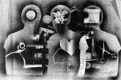 Dmitri Wright (American, born 1948). <em>Untitled</em>, 1970. Stencil print on paper, 24 x 36 1/8 in. (61 x 91.8 cm). Brooklyn Museum, Gift of the artist, 74.183. © artist or artist's estate (Photo: Brooklyn Museum, 74.183_bw.jpg)