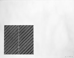Frank Stella (American, born 1936). <em>Tetuan III Number 11 For Meyer Shapiro</em>, 1973. Lithograph and screenprint on paper, sheet: 16 15/16 x 22 in. (43 x 55.9 cm). Brooklyn Museum, Designated Purchase Fund, 75.16.2. © artist or artist's estate (Photo: Brooklyn Museum, 75.16.2_bw.jpg)