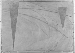 Thomas W. Holland (American, born 1936). <em>O'Mara</em>, 1973. Epoxy on fiberglass Brooklyn Museum, Gift of Samuel H. Lindenbaum, 75.207.1. © artist or artist's estate (Photo: Brooklyn Museum, 75.207.1_bw.jpg)
