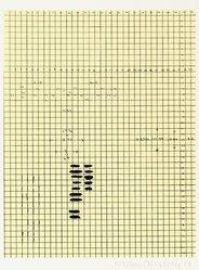 Alex Hay (American, born 1930). <em>[Untitled]</em>, 1973. Color serigraph, Sheet: 12 x 8 15/16 in. (30.5 x 22.7 cm). Brooklyn Museum, Gift of Theodore Kheel, 76.205.11. © artist or artist's estate (Photo: Brooklyn Museum, 76.205.11_PS2.jpg)