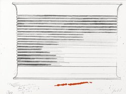 Donald Judd (American, 1928-1994). <em>[Untitled]</em>, 1973. Color lithograph and serigraph, Sheet: 9 x 12 in. (22.9 x 30.5 cm). Brooklyn Museum, Gift of Theodore Kheel, 76.205.12. © artist or artist's estate (Photo: Brooklyn Museum, 76.205.12_PS2.jpg)