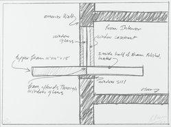 Robert Morris (American, 1931-2018). <em>[Untitled]</em>, 1973. Lithograph, Sheet: 9 1/16 x 12 in. (23 x 30.5 cm). Brooklyn Museum, Gift of Theodore Kheel, 76.205.16. © artist or artist's estate (Photo: Brooklyn Museum, 76.205.16_PS2.jpg)