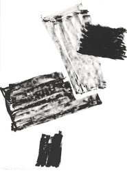 Richard Stankiewicz (American, 1922-1983). <em>[Untitled]</em>, 1973. Lithograph, Sheet: 11 15/16 x 8 15/16 in. (30.3 x 22.7 cm). Brooklyn Museum, Gift of Theodore Kheel, 76.205.27. © artist or artist's estate (Photo: Brooklyn Museum, 76.205.27_PS2.jpg)