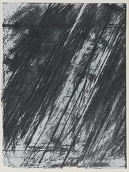 Cy Twombly (American, 1928-2011). <em>[Untitled]</em>, 1973. Color lithograph and serigraph, Sheet: 11 15/16 x 8 15/16 in. (30.3 x 22.7 cm). Brooklyn Museum, Gift of Theodore Kheel, 76.205.28. © artist or artist's estate (Photo: Brooklyn Museum, 76.205.28_PS2.jpg)