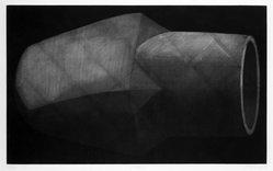 Edward Shalala (American, born 1949). <em>Eraser</em>, 1973. Mezzotint on paper, sheet: 15 x 22 in. (38.1 x 55.9 cm). Brooklyn Museum, Designated Purchase Fund, 77.165.1. © artist or artist's estate (Photo: Brooklyn Museum, 77.165.1_bw.jpg)