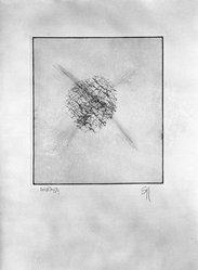 Donald Saff (American, born 1937). <em>Custer</em>, 1976. Intaglio (phenolic, glue, solvent), sheet: 29 7/8 x 22 1/4 in. (75.9 x 56.5 cm). Brooklyn Museum, Gift of the artist, 77.72.3. © artist or artist's estate (Photo: Brooklyn Museum, 77.72.3_bw.jpg)