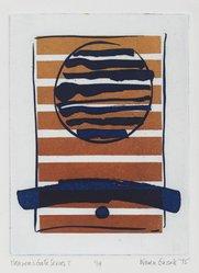 Karen Guzak (American, born 1939). <em>Heaven Gate Series I</em>, 1975. Intaglio in color Brooklyn Museum, Designated Purchase Fund, 78.166.6. © artist or artist's estate (Photo: Brooklyn Museum, 78.166.6_PS2.jpg)