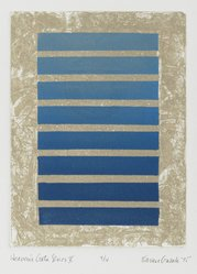 Karen Guzak (American, born 1939). <em>Heaven Gate Series V</em>, 1975. Intaglio in color Brooklyn Museum, Designated Purchase Fund, 78.166.7. © artist or artist's estate (Photo: Brooklyn Museum, 78.166.7_PS2.jpg)