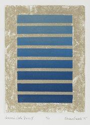 Karen Guzak (American, born 1939). <em>Heaven Gate Series V</em>, 1975. Intaglio in color Brooklyn Museum, Designated Purchase Fund, 78.166.7. © artist or artist's estate (Photo: Brooklyn Museum, 78.166.7_PS2.jpg)