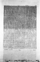 Philip Mullen (American, born 1942). <em>Kathmandu Eccentric</em>, 1977. Serigraph on paper, sheet: 30 x 20 1/4 in. (76.2 x 51.4 cm). Brooklyn Museum, Designated Purchase Fund, 78.23.2. © artist or artist's estate (Photo: Brooklyn Museum, 78.23.2_bw.jpg)