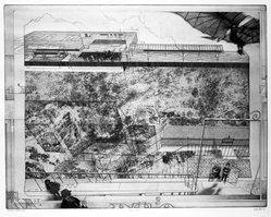 Peter W. Milton (American, born 1930). <em>Second Opinion</em>, 1974. Etching on paper, sheet: 27 3/8 x 32 5/8 in.  (69.5 x 82.9 cm);. Brooklyn Museum, Gift of Stephen Andrus, 78.271.5. © artist or artist's estate (Photo: Brooklyn Museum, 78.271.5_bw.jpg)