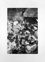 David Kessler (American, born 1950). <em>Surface Disturbance</em>, 1977-1978. Color Lithograph, Sheet: 25 3/16 x 33 1/16 in. (64 x 84 cm). Brooklyn Museum, Gift of Stephen Foster, 78.93.1. © artist or artist's estate (Photo: Brooklyn Museum, 78.93.1_bw.jpg)