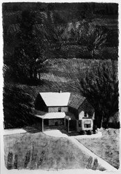 Linda Plotkin (American, born 1938). <em>Belleville Evening</em>, 1972. Lithograph on paper, 30 x 22 3/8 in. (76.2 x 56.8 cm). Brooklyn Museum, Gift of Stephen Andrus, 79.292.24. © artist or artist's estate (Photo: Brooklyn Museum, 79.292.24_bw.jpg)