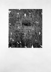 James Crabb (American, born 1947). <em>Departure #8</em>, 1977. Aquatint and etching with drypoint and engraving Brooklyn Museum, Designated Purchase Fund, 79.60.2. © artist or artist's estate (Photo: Brooklyn Museum, 79.60.2_bw.jpg)