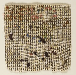 Taj Diffenbaugh Worley (American, 1947-1987). <em>Embellishment</em>, 1979. Monoprint (etching and yarn) on paper, sheet: 13 x 12 in. (33 x 30.5 cm). Brooklyn Museum, Designated Purchase Fund, 80.149.2. © artist or artist's estate (Photo: Brooklyn Museum, 80.149.2_PS2.jpg)
