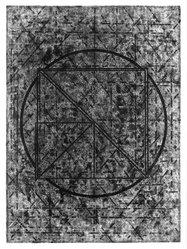 Vincent Longo (American, born 1923). <em>Temenos</em>, 1978-1979. Intaglio on paper, sheet: 29 3/4 x 22 1/4 in. (75.6 x 56.5 cm). Brooklyn Museum, Gift of the artist, 80.17.2. © artist or artist's estate (Photo: Brooklyn Museum, 80.17.2_bw.jpg)