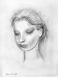 John Carroll (American, 1892-1959). <em>Untitled Pencil with Wash</em>, n.d. Graphite with watercolor on paperboard, sheet: 18 5/8 x 13 7/8 in. (47.3 x 35.2 cm). Brooklyn Museum, Gift of Mr. and Mrs. Sid Feinberg, 80.208.2. © artist or artist's estate (Photo: Brooklyn Museum, 80.208.2_bw.jpg)