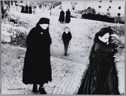 Mario Giacomelli (Italian, 1925-2000). <em>[Untitled]</em>, n.d. Gelatin silver photograph, sheet: 11 11/16 x 15 3/4 in. (29.7 x 40 cm). Brooklyn Museum, Gift of Dr. Daryoush Houshmand, 80.216.12. © artist or artist's estate (Photo: Brooklyn Museum, 80.216.12_PS1.jpg)