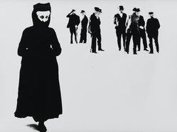 Mario Giacomelli (Italian, 1925-2000). <em>[Untitled]</em>, n.d. Gelatin silver photograph, sheet: 11 5/8 x 15 7/16 in. (29.5 x 39.2 cm). Brooklyn Museum, Gift of Dr. Daryoush Houshmand, 80.216.15. © artist or artist's estate (Photo: Brooklyn Museum, 80.216.15_PS1.jpg)