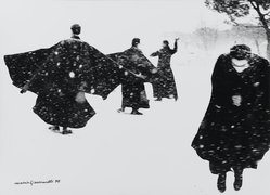 Mario Giacomelli (Italian, 1925-2000). <em>[Untitled]</em>, 1970. Gelatin silver photograph, sheet: 11 1/4 x 15 7/16 in. (28.6 x 39.2 cm). Brooklyn Museum, Gift of Dr. Daryoush Houshmand, 80.216.18. © artist or artist's estate (Photo: Brooklyn Museum, 80.216.18_PS1.jpg)