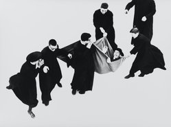 Mario Giacomelli (Italian, 1925-2000). <em>[Untitled]</em>, 1968. Gelatin silver photograph, sheet: 11 1/2 x 15 7/16 in. (29.2 x 39.2 cm). Brooklyn Museum, Gift of Dr. Daryoush Houshmand, 80.216.19. © artist or artist's estate (Photo: Brooklyn Museum, 80.216.19_PS1.jpg)
