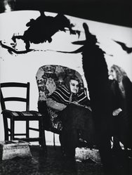 Mario Giacomelli (Italian, 1925-2000). <em>[Untitled]</em>, 1962. Gelatin silver photograph, sheet: 15 5/16 x 11 1/2 in. (38.9 x 29.2 cm). Brooklyn Museum, Gift of Dr. Daryoush Houshmand, 80.216.20. © artist or artist's estate (Photo: Brooklyn Museum, 80.216.20_PS1.jpg)