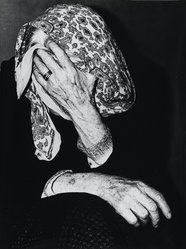 Mario Giacomelli (Italian, 1925-2000). <em>[Untitled]</em>, 1962. Gelatin silver photograph, sheet: 15 3/8 x 11 5/8 in. (39.1 x 29.5 cm). Brooklyn Museum, Gift of Dr. Daryoush Houshmand, 80.216.21. © artist or artist's estate (Photo: Brooklyn Museum, 80.216.21_PS1.jpg)