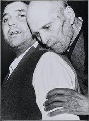 Mario Giacomelli (Italian, 1925-2000). <em>[Untitled]</em>, 1960. Gelatin silver photograph, sheet: 15 9/16 x 11 1/2 in. (39.5 x 29.2 cm). Brooklyn Museum, Gift of Dr. Daryoush Houshmand, 80.216.28. © artist or artist's estate (Photo: Brooklyn Museum, 80.216.28_PS1.jpg)