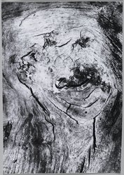 Mario Giacomelli (Italian, 1925-2000). <em>[Untitled]</em>, n.d. Gelatin silver photograph, sheet: 15 5/16 x 10 5/8 in. (38.9 x 27 cm). Brooklyn Museum, Gift of Dr. Daryoush Houshmand, 80.216.37. © artist or artist's estate (Photo: Brooklyn Museum, 80.216.37_PS1.jpg)