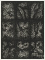 John Himmelfarb (American, born 1946). <em>Night Life</em>, 1979. Etching, Sheet: 15 7/8 x 12 15/16 in. (40.4 x 32.9 cm). Brooklyn Museum, Designated Purchase Fund, 80.91.1. © artist or artist's estate (Photo: Brooklyn Museum, 80.91.1_PS4.jpg)