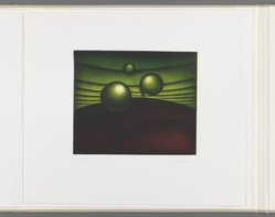 Kazuhisa Honda (Japanese, born 1948). <em>Awakening</em>, 1981. Mezzotint, Folio: 10 5/8 x 12 1/16 in. (27 x 30.6 cm). Brooklyn Museum, Gift of Gene Baro, 81.137.2. © artist or artist's estate (Photo: Brooklyn Museum, 81.137.2_IMLS_PS3.jpg)