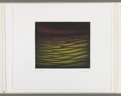 Kazuhisa Honda (Japanese, born 1948). <em>Genesis</em>, 1981. Mezzotint, Folio: 10 5/8 x 12 1/16 in. (27 x 30.6 cm). Brooklyn Museum, Gift of Gene Baro, 81.137.4. © artist or artist's estate (Photo: Brooklyn Museum, 81.137.4_IMLS_PS3.jpg)