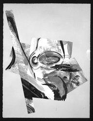 Jeff Goodman (American, born 1941). <em>Un Ange Passe</em>, 1983. Monotype on handmade paper Brooklyn Museum, Gift of the artist, 83.203. © artist or artist's estate (Photo: Brooklyn Museum, 83.203_bw.jpg)