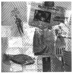 Robert Rauschenberg (American, 1925-2008). <em>Surface Series #38</em>, 1970. Hand-printed screenprint on paper, 35 1/8 x 35 in. (89.2 x 88.9 cm). Brooklyn Museum, Gift of Mr. and Mrs. Dennis Berman, 84.151.1. © artist or artist's estate (Photo: Brooklyn Museum, 84.151.1_bw.jpg)