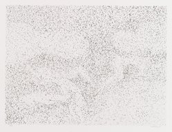 David Kremgold (American, born 1944). <em>The Figure in Landscape</em>, 1984. Lithograph on white wove paper, Sheet: 12 3/8 x 14 3/16 in. (31.5 x 36.1 cm). Brooklyn Museum, Gift of Ronald T. Kraver, 84.228.4. © artist or artist's estate (Photo: Brooklyn Museum, 84.228.4_PS4.jpg)