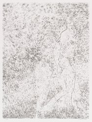 David Kremgold (American, born 1944). <em>The Figure in Landscape</em>, 1984. Lithograph on white wove paper, Sheet: 14 3/8 x 12 5/16 in. (36.5 x 31.2 cm). Brooklyn Museum, Gift of Ronald T. Kraver, 84.228.5. © artist or artist's estate (Photo: Brooklyn Museum, 84.228.5_PS4.jpg)