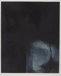 George Segal (American, 1924-2000). <em>Girl in Blue Jeans: Back View</em>, 1975. Soft ground and aquatint on paper, sheet: 39 x 27 3/4 in. (99.1 x 70.5 cm). Brooklyn Museum, Gift of Carroll Janis, 84.271.3. © artist or artist's estate (Photo: Brooklyn Museum, 84.271.3_PS9.jpg)