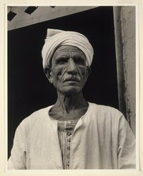 "Paul Strand (American, 1890-1976). <em>""Sheik Ali Gournah,"" Egypt</em>, 1959. Gelatin silver photograph, Image: 13 3/8 x 10 5/8 in. (34 x 27 cm). Brooklyn Museum, Gift of Naomi and Walter Rosenblum, 85.193.2. © artist or artist's estate (Photo: Brooklyn Museum, 85.193.2_SL1.jpg)"