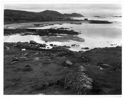 "Paul Strand (American, 1890-1976). <em>""Tir A Mhurain"" Hebrides</em>, 1962. Gelatin silver photograph on white wove paper, sheet: 11 x 14 in.  (27.9 x 35.6 cm); image: 10 1/2 x 13 5/8 in. (26.7 x 34.6 cm). Brooklyn Museum, Gift of Naomi and Walter Rosenblum, 85.193.3. © artist or artist's estate (Photo: Brooklyn Museum, 85.193.3_bw.jpg)"