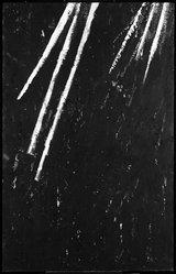 Richard Milani (American, born 1952). <em>Alternative Threat</em>, 1984. Acrylic on screen, 62 x 40 in. (157.5 x 101.6 cm). Brooklyn Museum, Gift of Anne Livet, 86.280.2. © artist or artist's estate (Photo: Brooklyn Museum, 86.280.2_bw.jpg)