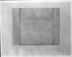 Seymour Boardman (American, born 1921). <em>No. 15</em>, 1977. Graphite on paper, sheet: 19 1/2 x 25 1/2 in. (49.5 x 64.8 cm). Brooklyn Museum, Gift of Aaron Berman, 86.284.6. © artist or artist's estate (Photo: Brooklyn Museum, 86.284.6_bw.jpg)
