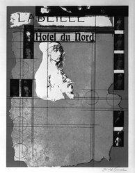 Joseph Cornell (American, 1903-1972). <em>Hotel du Nord</em>, mid-20th century. Lithograph Brooklyn Museum, Gift of John and Paul Herring, 86.295.3. © artist or artist's estate (Photo: Brooklyn Museum, 86.295.3_bw.jpg)