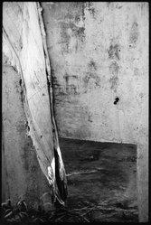 Carl E. Lewis (American, born 1951). <em>The Drape</em>, ca. 1980s. Silver dye bleach photograph (Cibachrome), sheet: 20 × 16 in. (50.8 × 40.6 cm). Brooklyn Museum, Gift of Foster Goldstrom, 87.152.1. © artist or artist's estate (Photo: Brooklyn Museum, 87.152.1_bw.jpg)