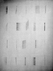 Blythe Bohnen (American, born 1940). <em>Untitled Drawing</em>, 1972. Graphite on wove paper, 45 x 35 in. (114.3 x 88.9 cm). Brooklyn Museum, Gift of Alan Sonfist, 87.250.1. © artist or artist's estate (Photo: Brooklyn Museum, 87.250.1_bw.jpg)
