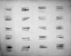 Blythe Bohnen (American, born 1940). <em>Untitled Drawing</em>, 1973. Graphite on paper, 45 x 35 in. (114.3 x 88.9 cm). Brooklyn Museum, Gift of Alan Sonfist, 87.250.3. © artist or artist's estate (Photo: Brooklyn Museum, 87.250.3_bw.jpg)