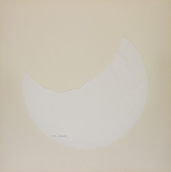 Sol LeWitt (American, 1928-2007). <em>Torn Paper Piece R. 505</em>, ca. 1975. White textured paper, 12 1/2 x 12 1/2in. (31.8 x 31.8cm). Brooklyn Museum, Gift of Estelle Schwartz, 88.134.1. © artist or artist's estate (Photo: , 88.134.1_PS11.jpg)
