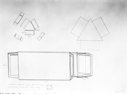 Donald Judd (American, 1928-1994). <em>Untitled</em>, 1979. Graphite on paper, 22 x 30 1/8 in. (55.9 x 76.5 cm). Brooklyn Museum, Anonymous gift, 88.170.12. © artist or artist's estate (Photo: Brooklyn Museum, 88.170.12_bw.jpg)