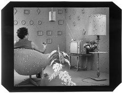 Sandy Skoglund (American, born 1946). <em>Germs are Everywhere</em>, 1984. Cibachrome print, Sheet: 30 x 40 in. (76.2 x 101.6 cm). Brooklyn Museum, Robert A. Levinson Fund, 88.179. © artist or artist's estate (Photo: Brooklyn Museum, 88.179_bw.jpg)