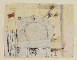 Hannelore Baron (American, 1926-1987). <em>Untitled</em>, 1969. Ink, watercolor and paper, 7 3/8 × 9 5/8 in. (18.7 × 24.4 cm). Brooklyn Museum, Gift of the Estate of Hannelore Baron, 88.43.2. © artist or artist's estate (Photo: Brooklyn Museum, 88.43.2_PS9.jpg)